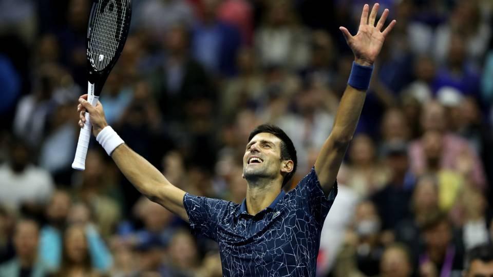 US Open 2018: Novak Djokovic equals Sampras' mark with win over Juan Martin del Potro