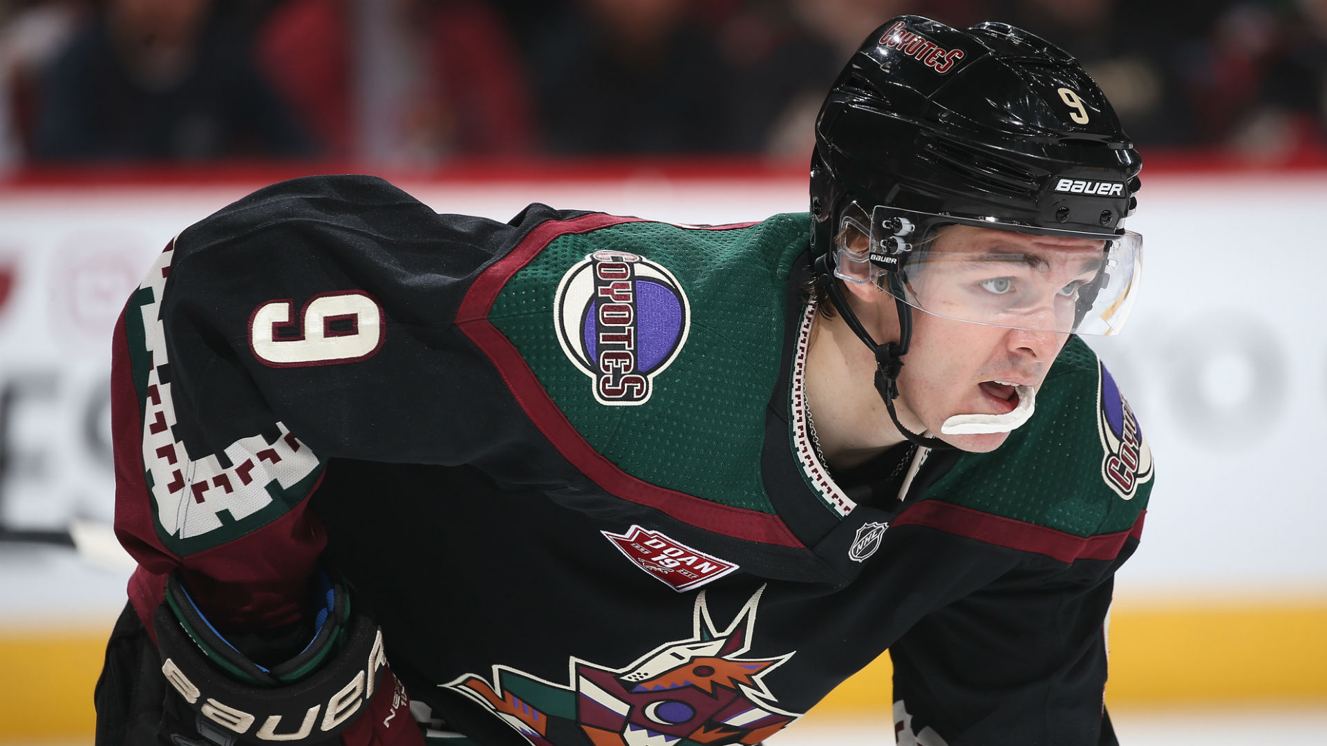 Clayton Keller, Coyotes agree to 8-year extension