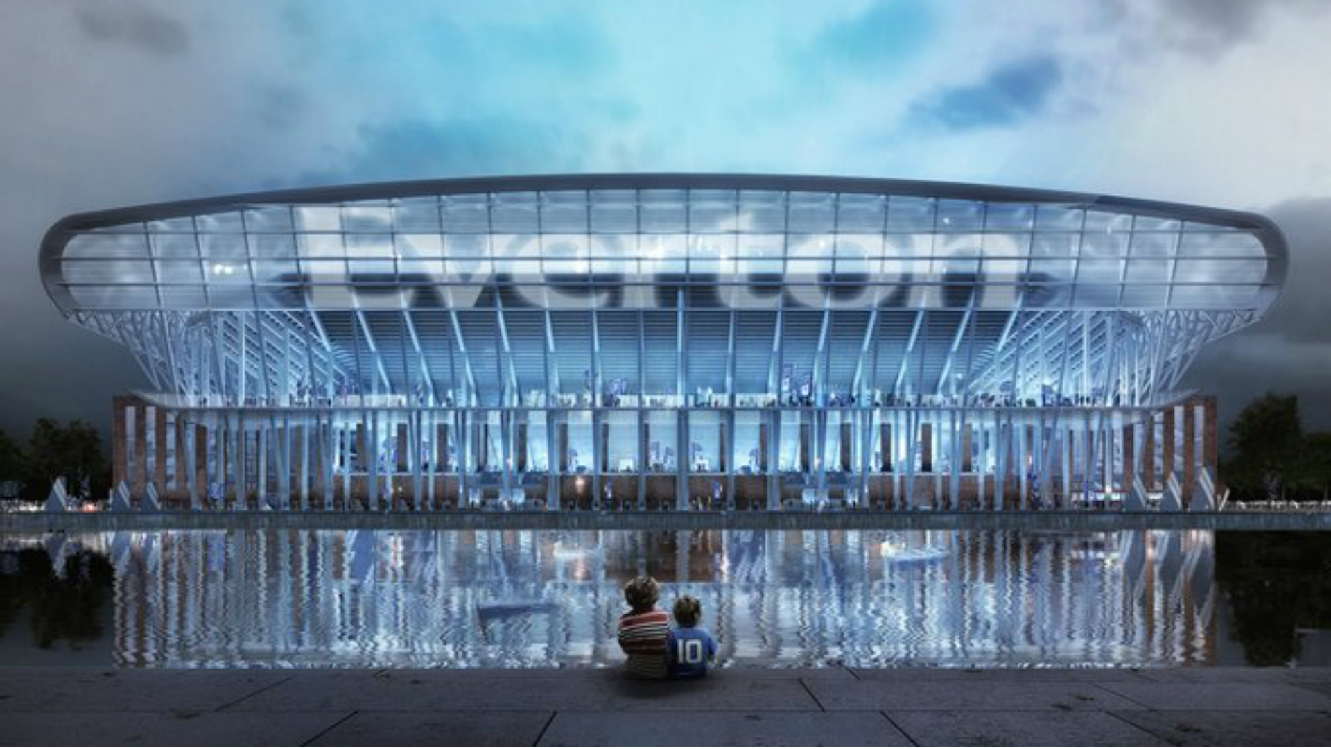Everton stadium designs revealed