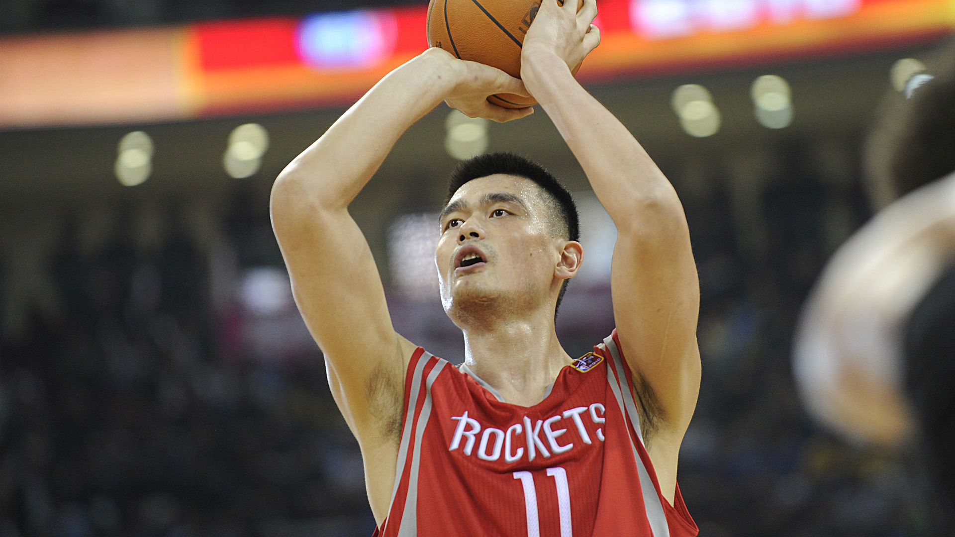 huge selection of ea0bc 32b4c Rockets retire Yao Ming's No. 11 jersey | Sporting News