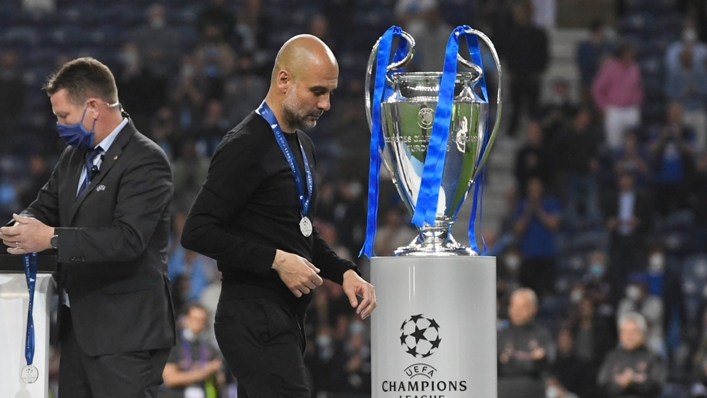 Pep Guardiola is still searching for Champions League glory with Manchester City