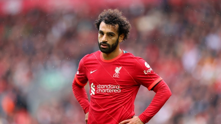 Mohamed Salah is on the cusp of 100 Premier League goals for Liverpool