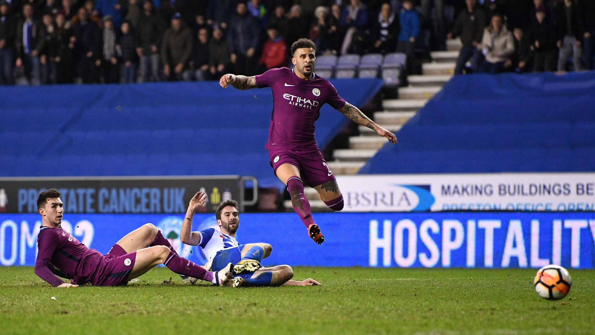 FA Cup (2017-2018) Report: Wigan Athletic 1 Manchester City 0 - Grigg ends Guardiola's quadruple dream
