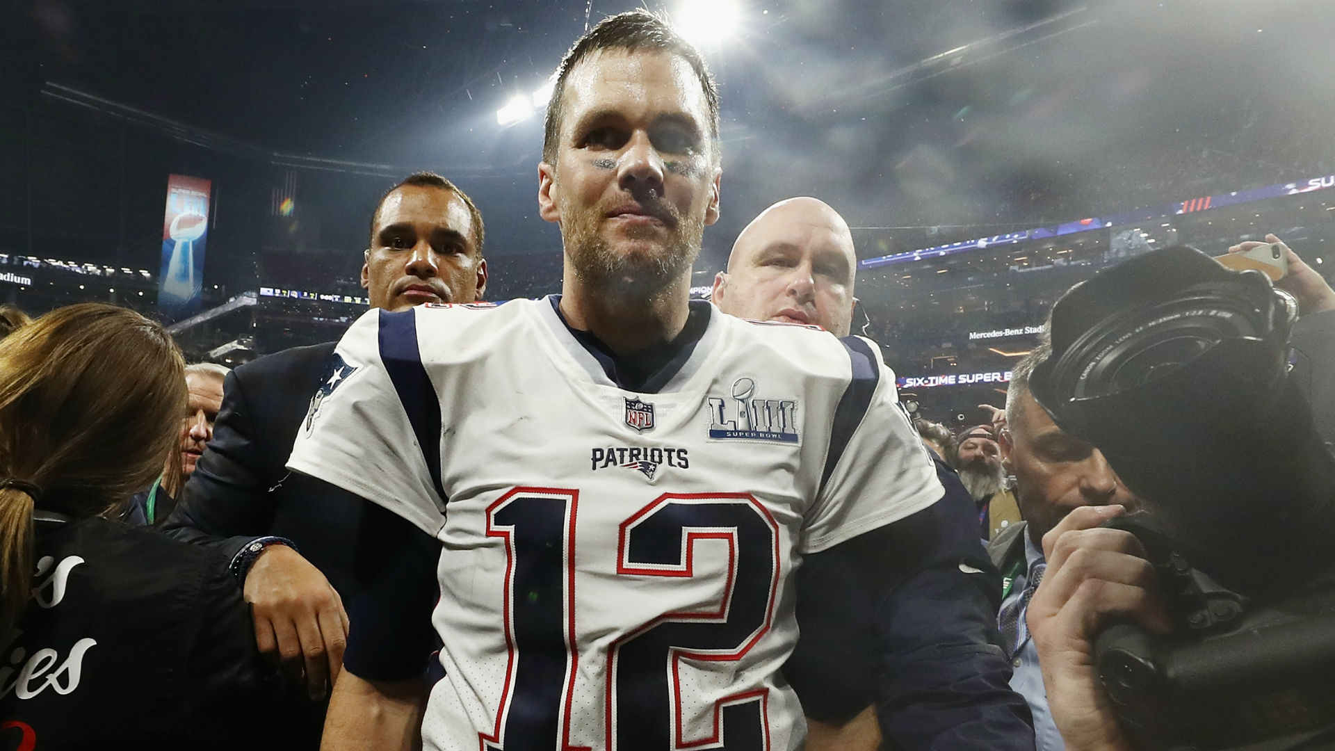 Tom Brady says he's in 'uncharted territory' with Patriots