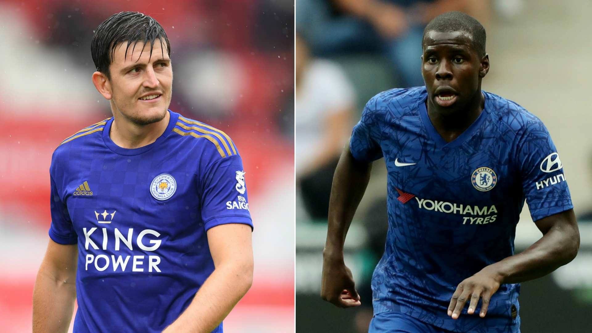 Harry Maguire and Kurt Zouma - cropped