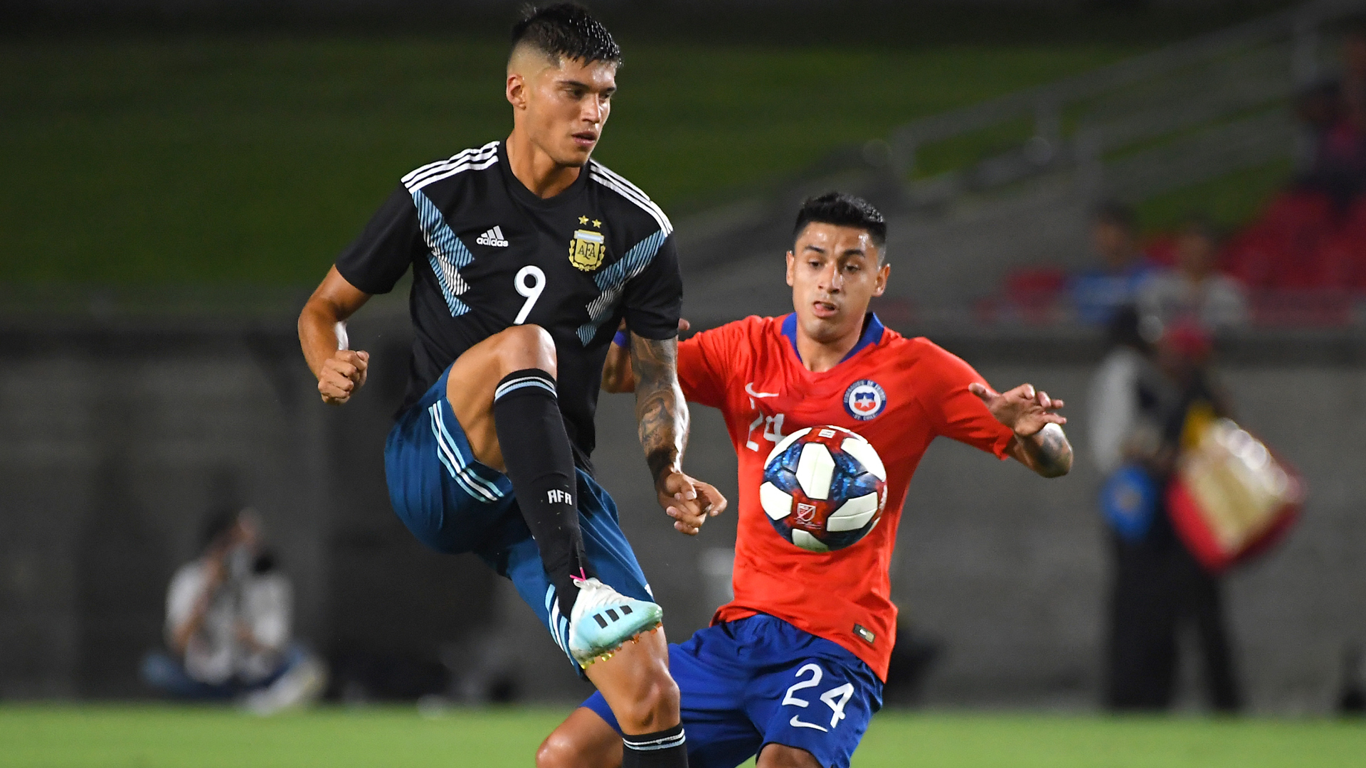 Argentina, Chile play out goalless draw in combative friendly