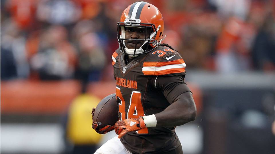 Isaiah Crowell says he was discouraged by his role in Browns' offense
