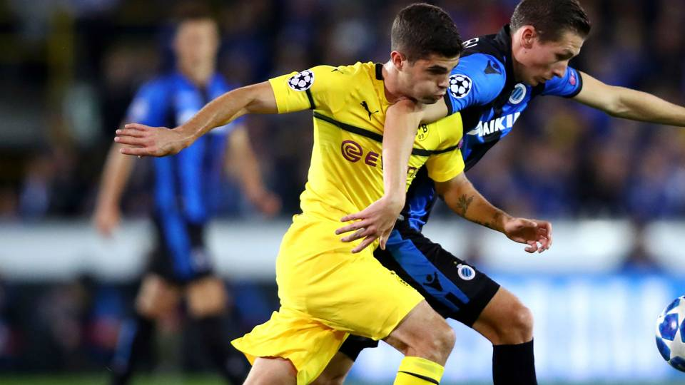 USMNT's Christian Pulisic, Weston McKennie star in Champions League
