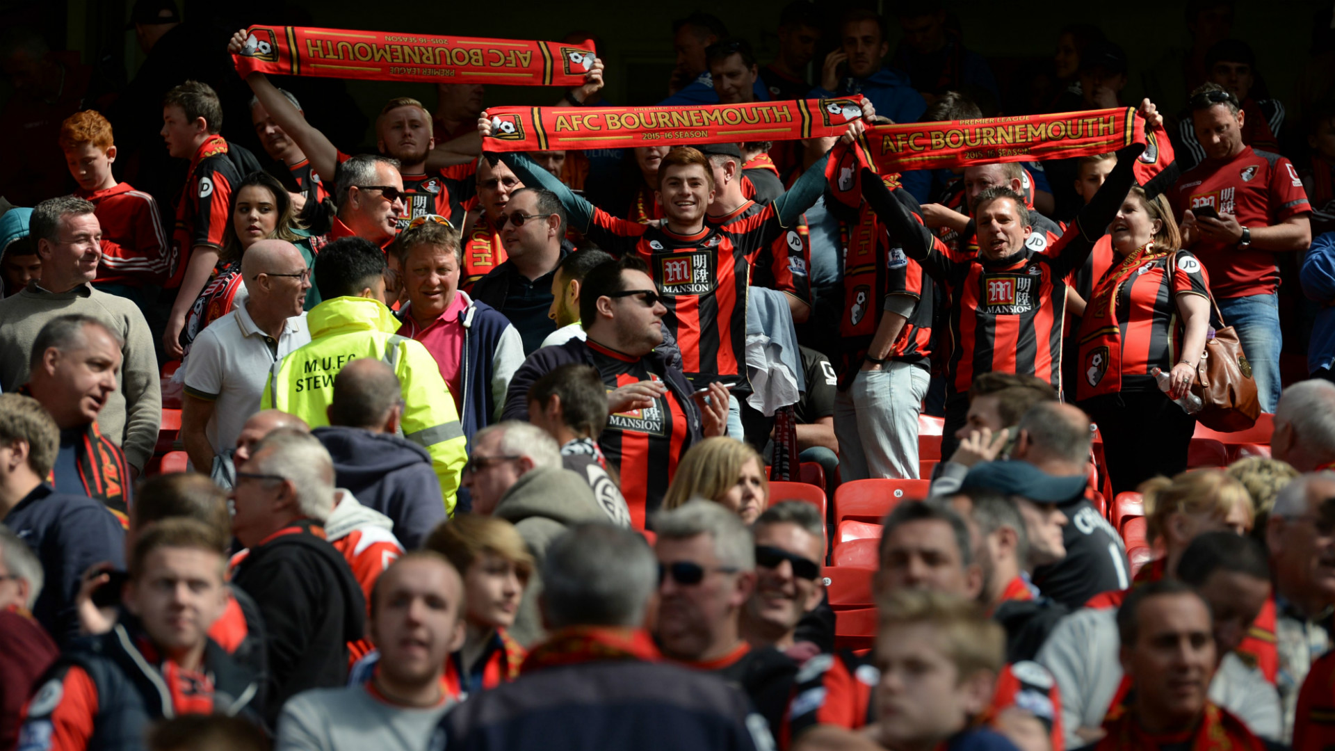 man united news: bournemouth fans given free travel for rearranged fixture