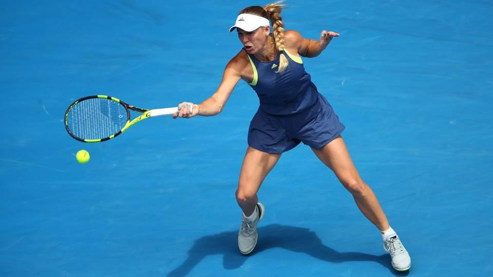 Australian Open 2018: Caroline Wozniacki cruises into quarterfinals
