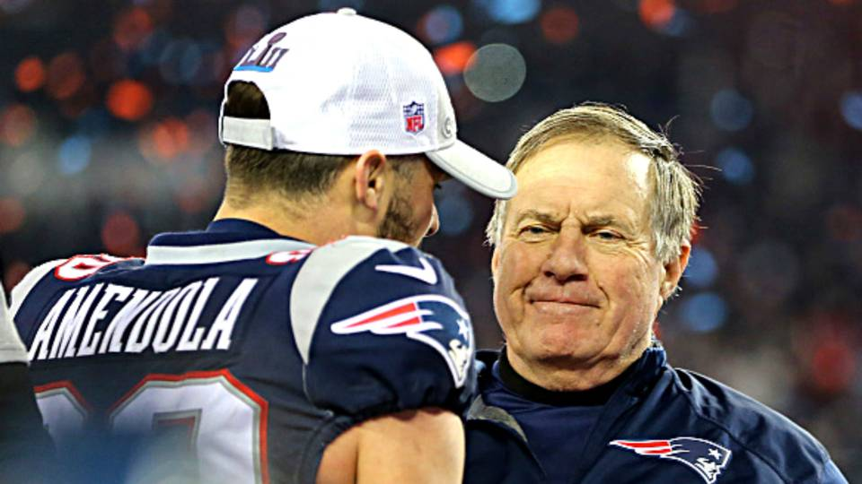 Danny Amendola: Bill Belichick best coach ever, but 'he's an a—h— typically'