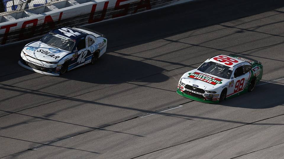 Kevin Harvick rips driver who wrecked him in Xfinity race