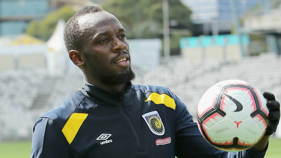 Usain Bolt admits to nerves ahead of pro soccer debut
