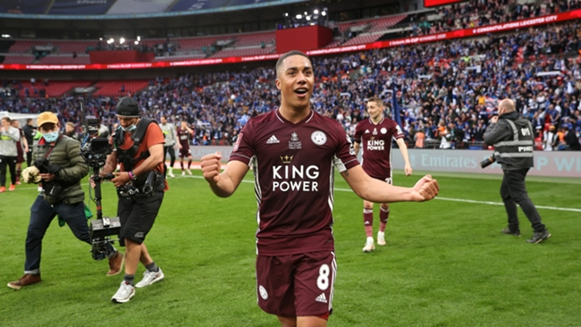 Youri Tielemans fired Leicester to FA Cup glory