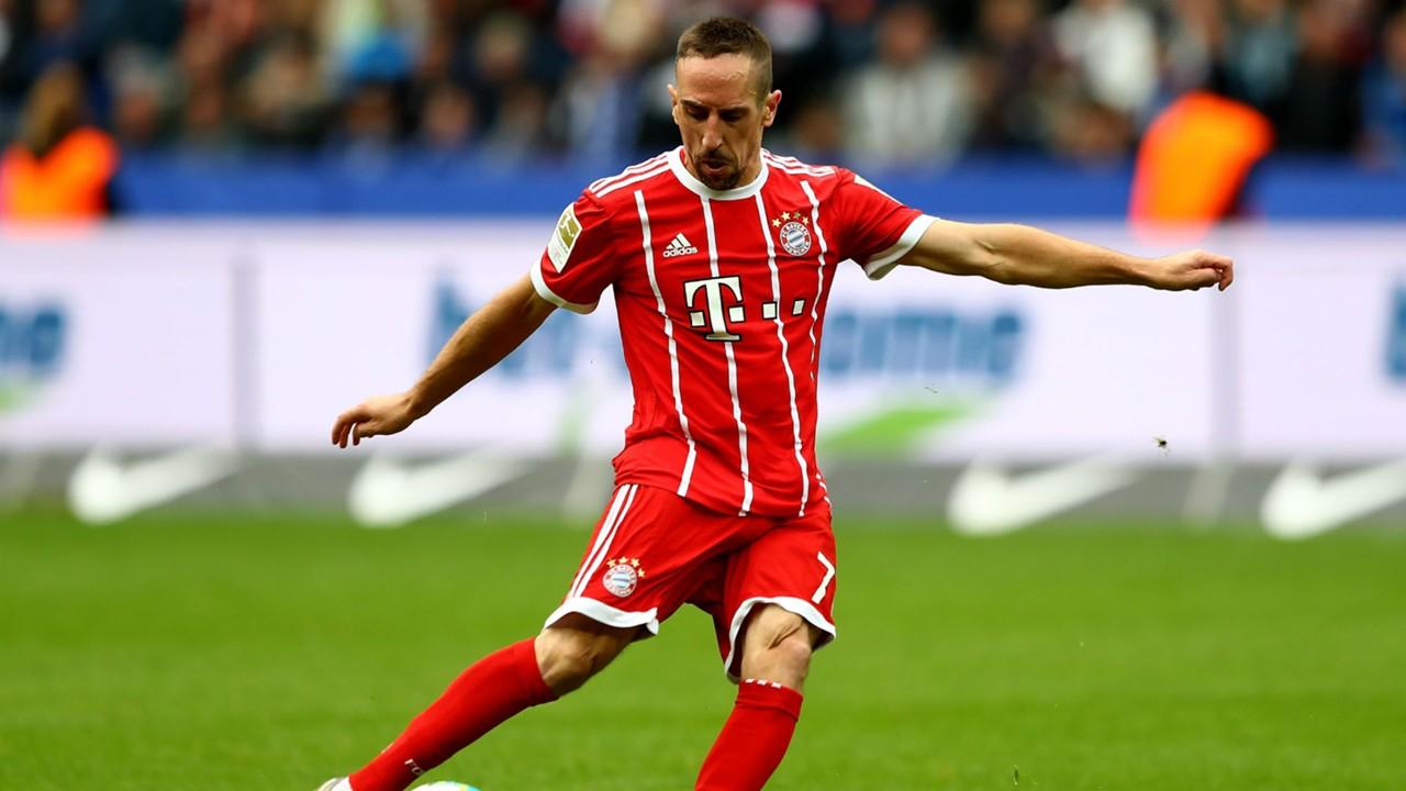 Bayern Munich news Franck Ribery steps up knee injury rehab