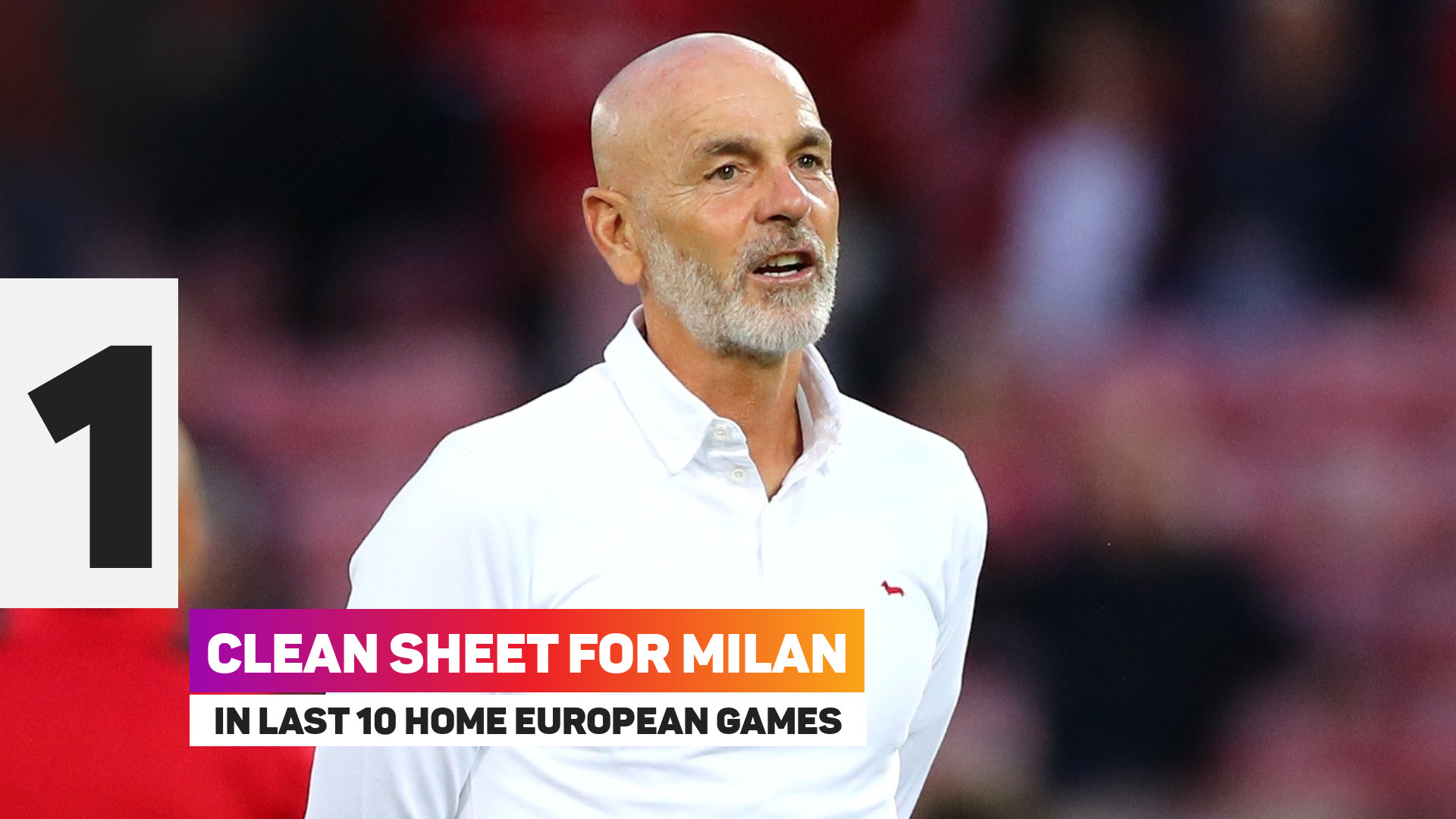 Milan have kept one clean sheet in their last 10 home European matches