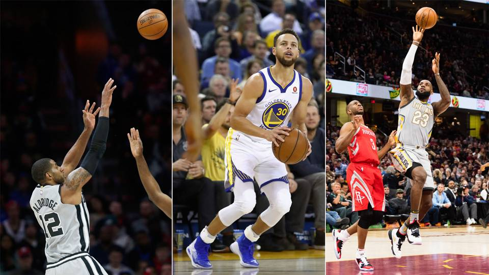 NBA wrap: Warriors, Cavaliers, Spurs all lose on night of upsets