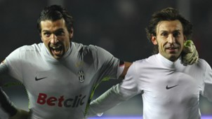 Gianluigi Buffon and Andrea Pirlo - cropped