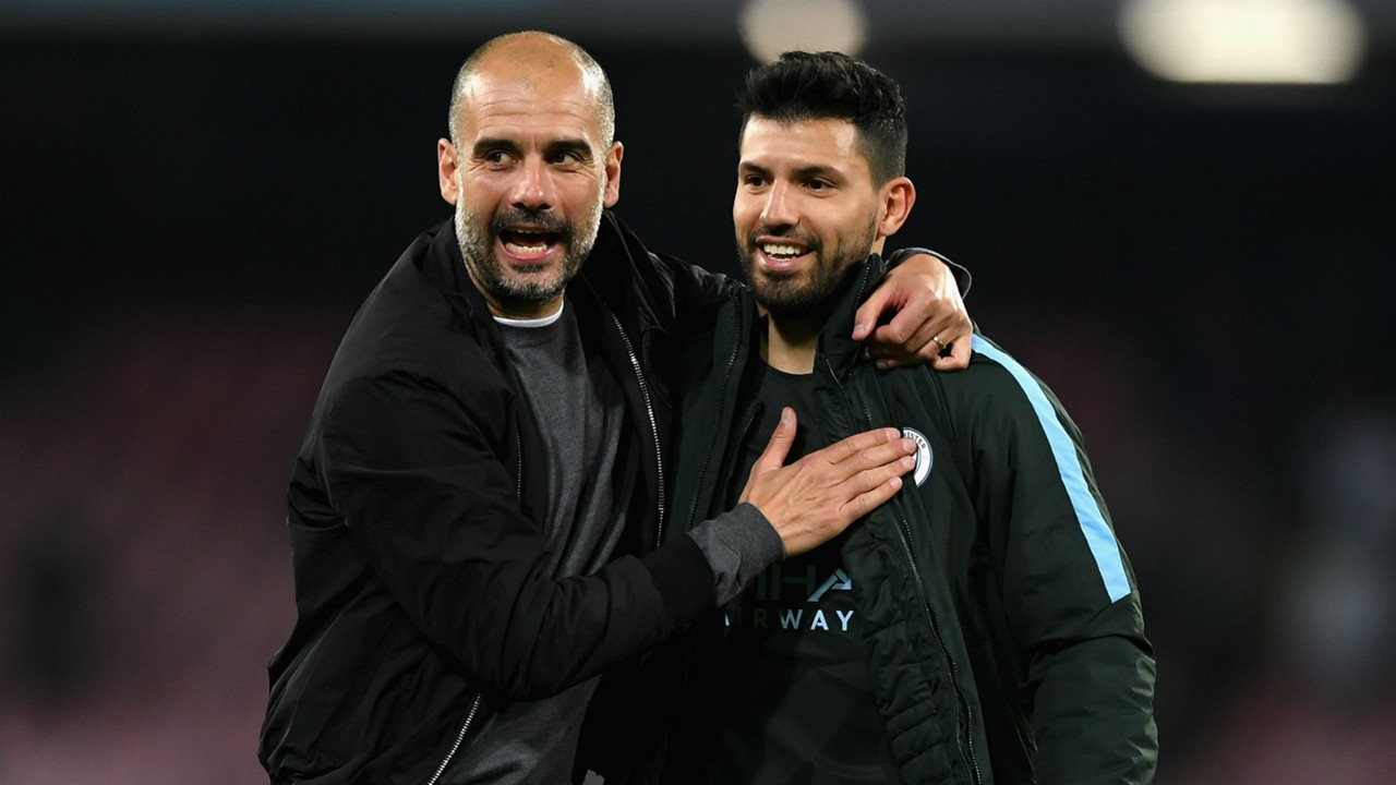 'Legend' Aguero's strike was timed to perfection, says Guardiola