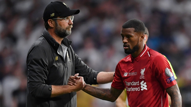 Georginio Wijnaldum won the Premier League and Champions League in five years at Liverpool