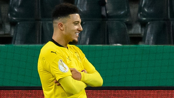 Jadon Sancho is set to join Manchester United