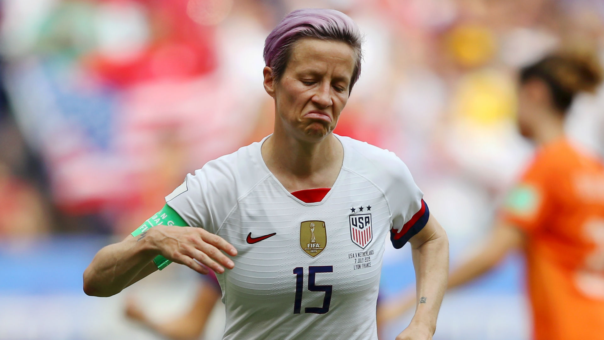 Megan Rapinoe victim of possible hate crime, according to NYPD