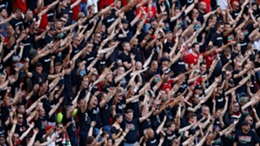 UEFA said it is examining the behaviour of Hungary fans