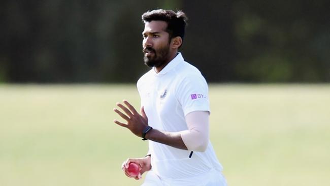 Kolkata Knight Riders pace bowler Sandeep Warrier