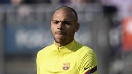 Barcelona striker Martin Braithwaite