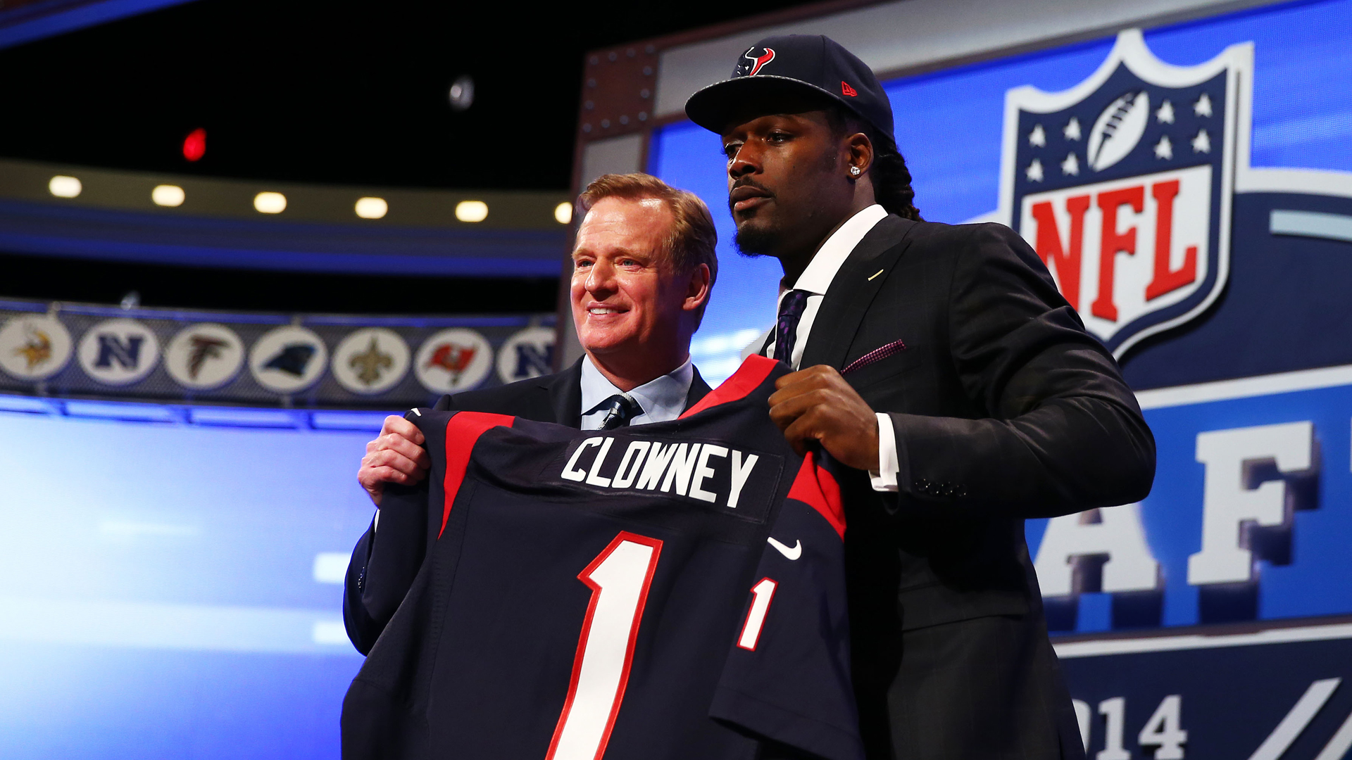 Remembering the 2014 NFL Draft in a time when No. 1 pick Jadeveon Clowney may get traded