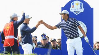 Brooks Koepka Tony Finau - cropped