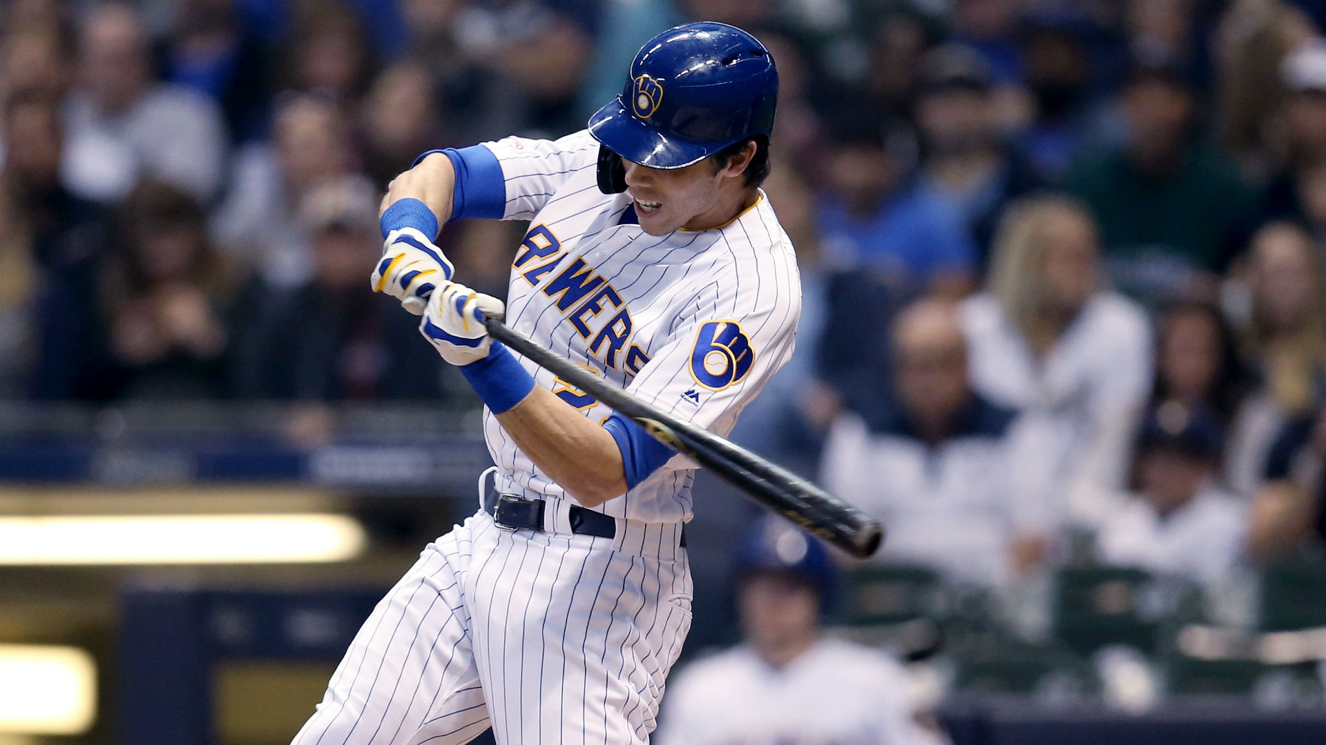 Christian Yelich breaks boat window during Home Run Derby practice, someone calls police (really)