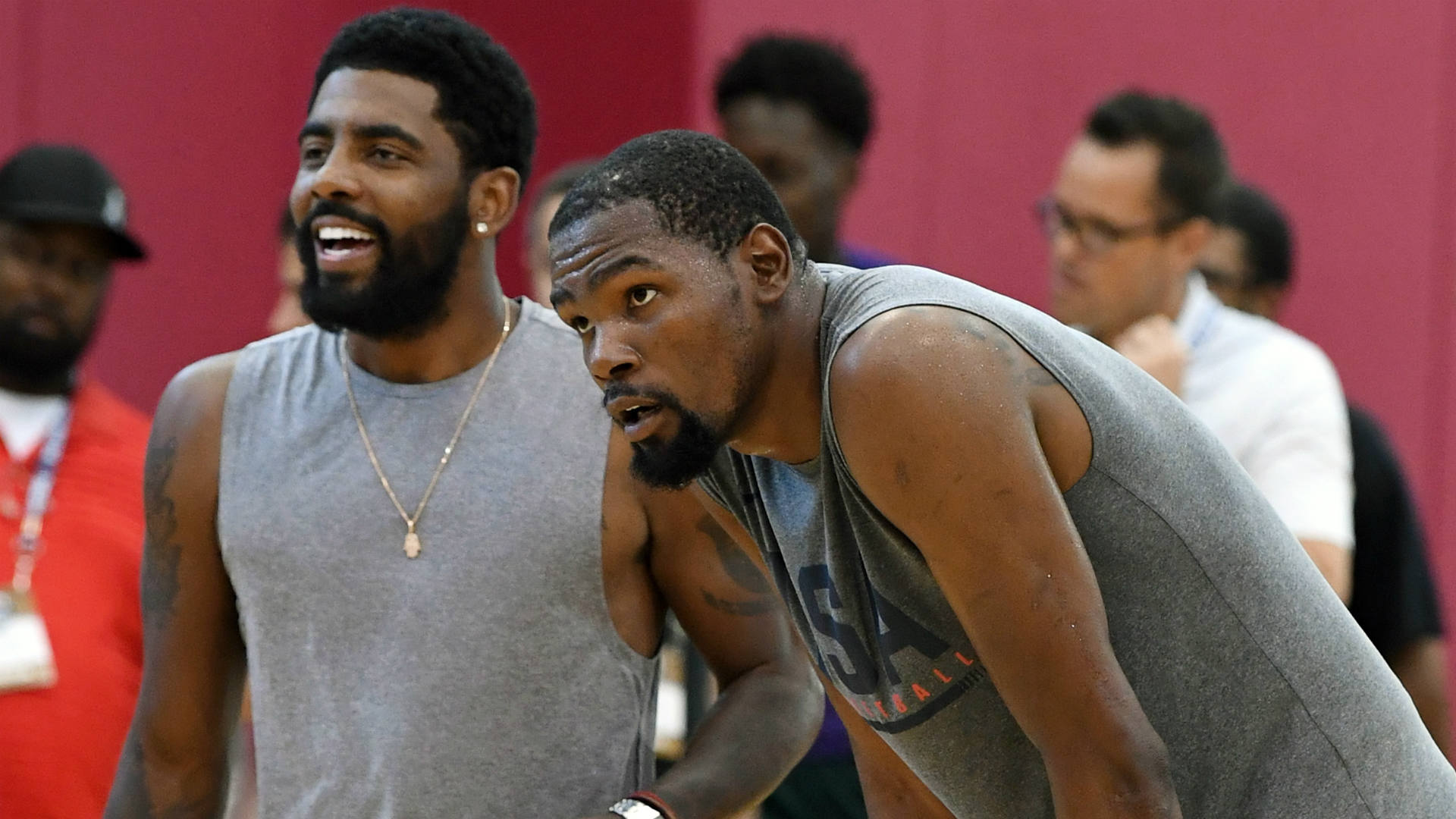 Kevin Durant free agency rumors: Star has met twice with Kyrie Irving about signing with same team
