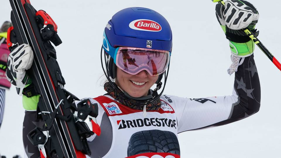 Mikaela Shiffrin makes World Cup history with 15th win of 2018