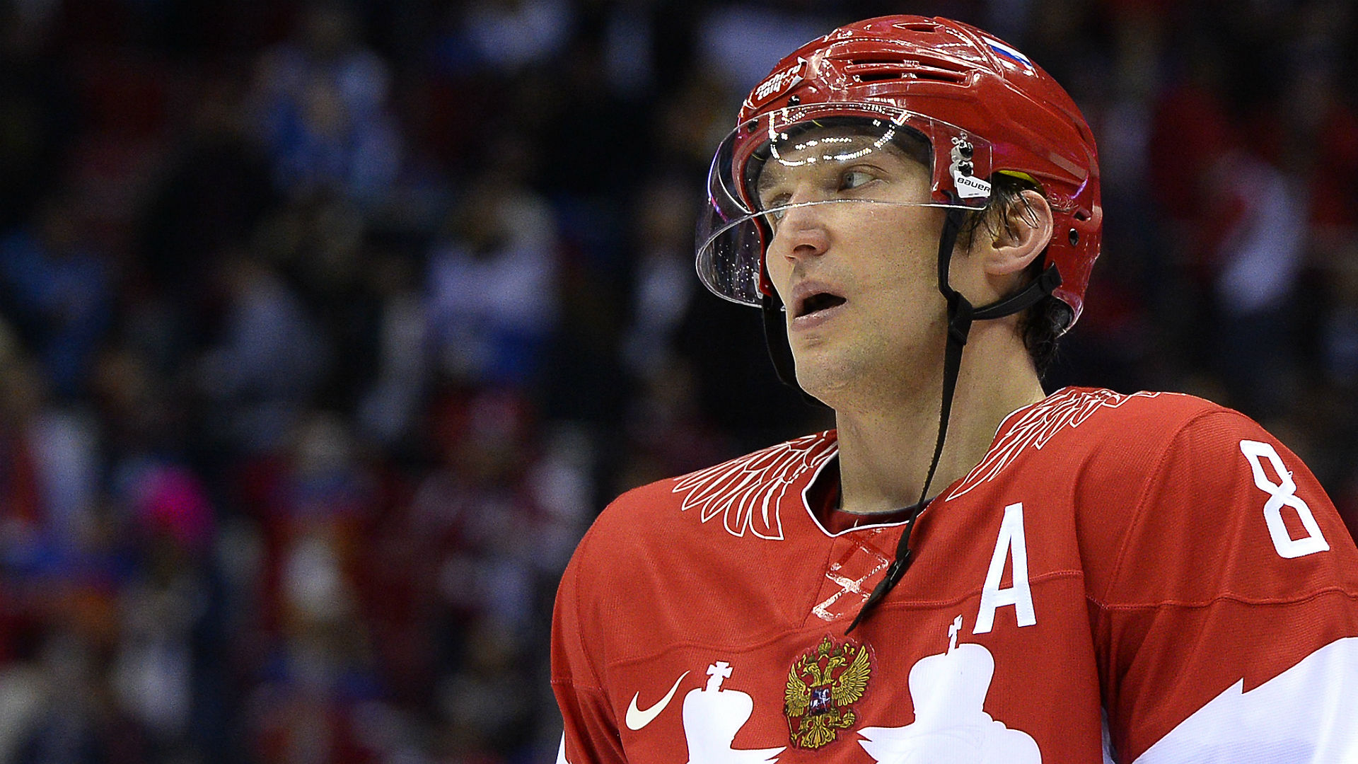 Alex Ovechkin throws support behind Russian athletes in wake of Olympic ban