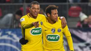 kylian mbappe neymar - cropped