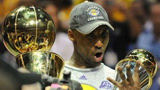 Kobe Bryant after winning his fourth NBA title