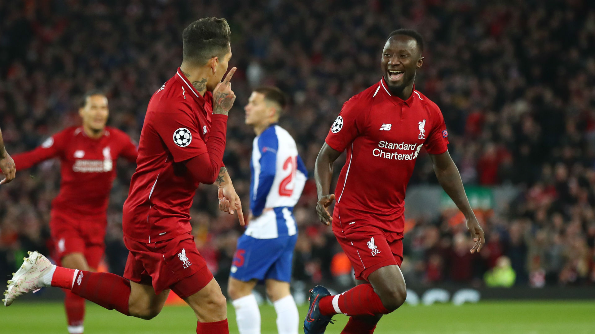 Champions League: Liverpool Ease Past Porto To Claim First