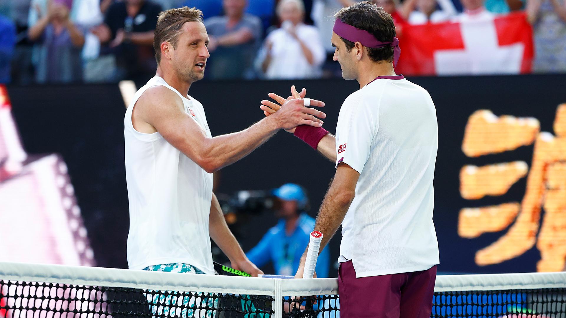 Australian Open 2020: The seven match points Roger Federer saved against Tennys Sandgren - sporting news