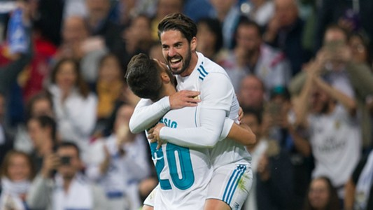Marco Asensio and Isco