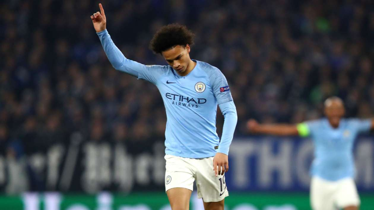 UCL 2018-2019 Report: Schalke 2 Manchester City 3 - 10-man visitors strike late through Sane & Sterling