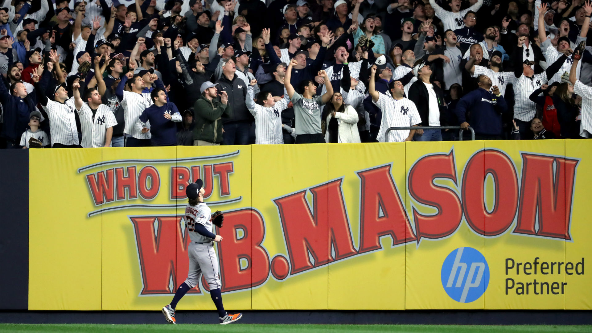 Astros' Josh Reddick slams 'disrespectful' Yankees fans