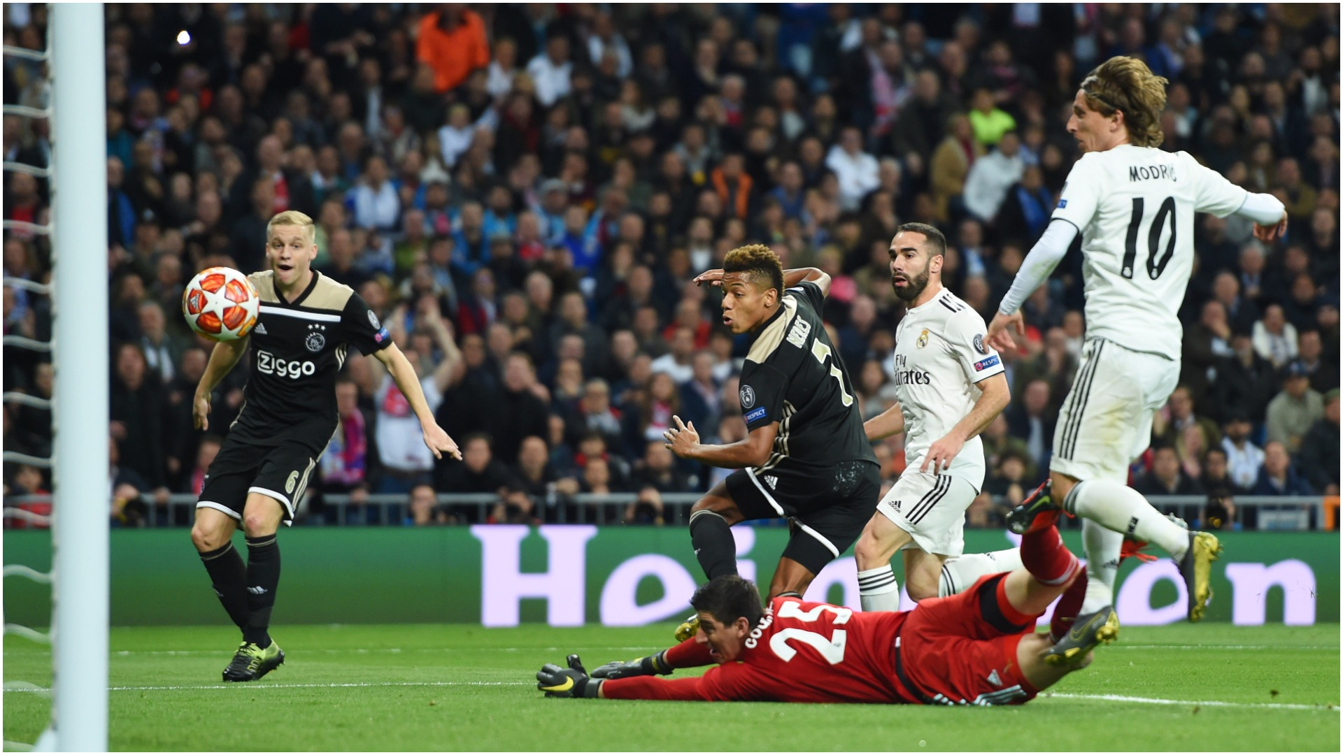 Real Madrid v Ajax Match Report, 05/03/2019, UEFA Champions League