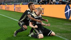 David Neres and Donny van de Beek - cropped