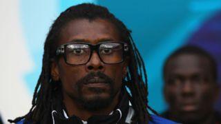 Senegal coach AliouCisse - Cropped