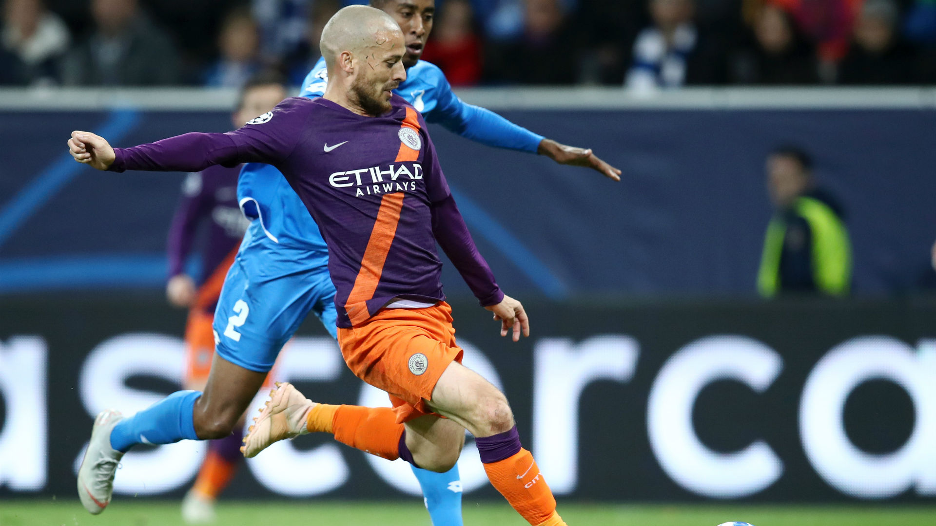 UEFA Champions League Report: Hoffenheim v Manchester City 02 October 2018