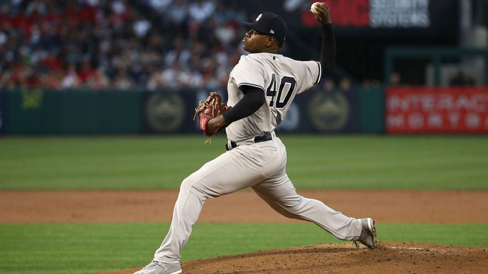 MLB Wrap: Luis Severino throws complete-game shutout to lead Yankees past Astros