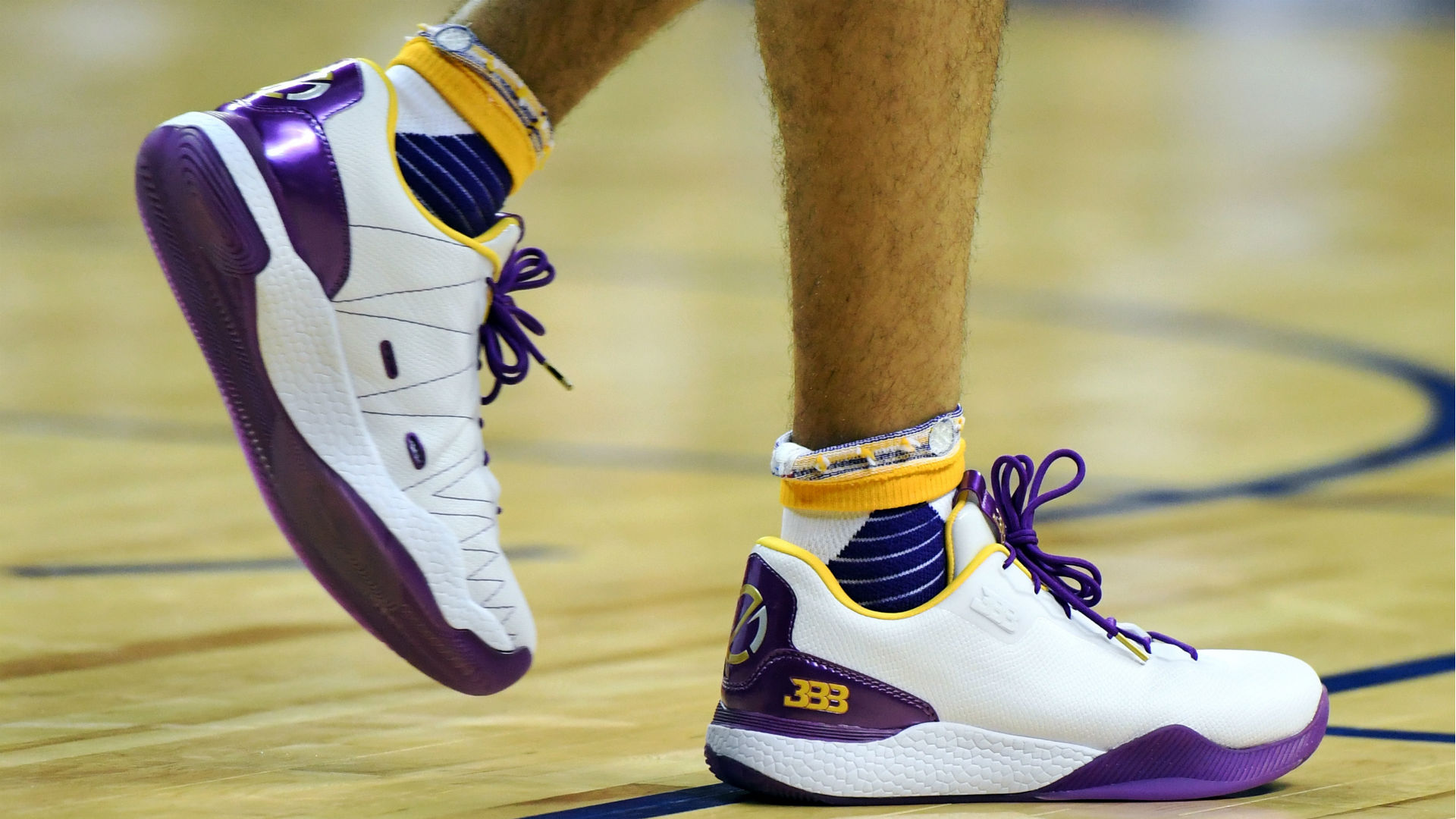 Lonzo Ball says his Big Baller Brand shoes fell apart every quarter