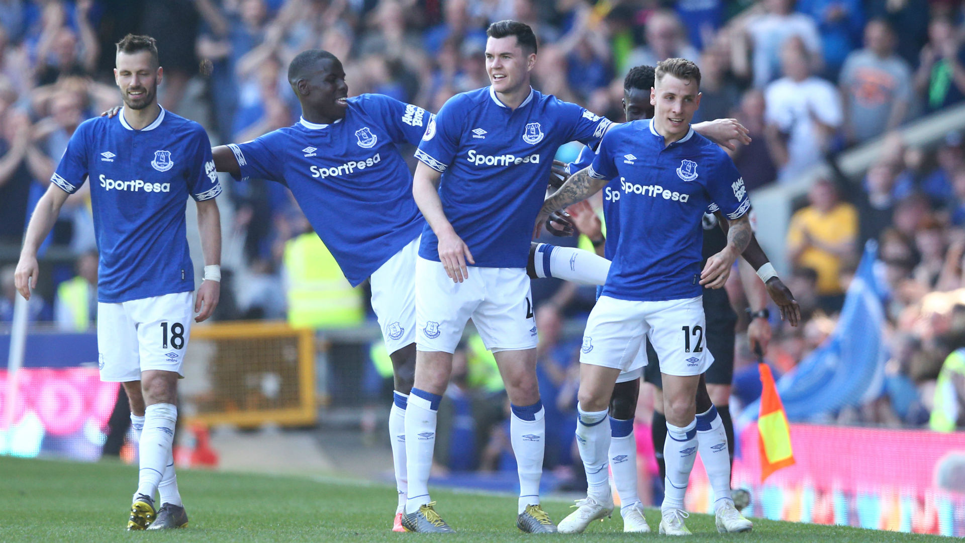 Everton fans rank their top five performers against Man United