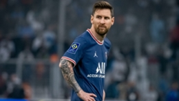 Paris Saint-Germain's Lionel Messi